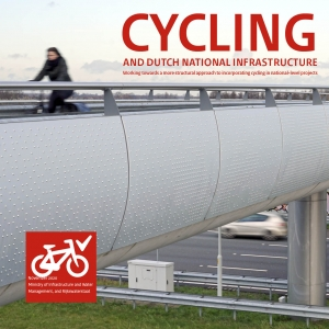 cover photo CYCLING and Dutch national infrastructure book